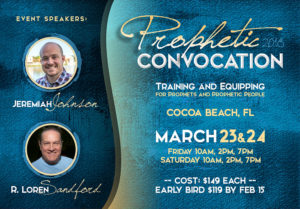 Prophetic Convocation Graphic